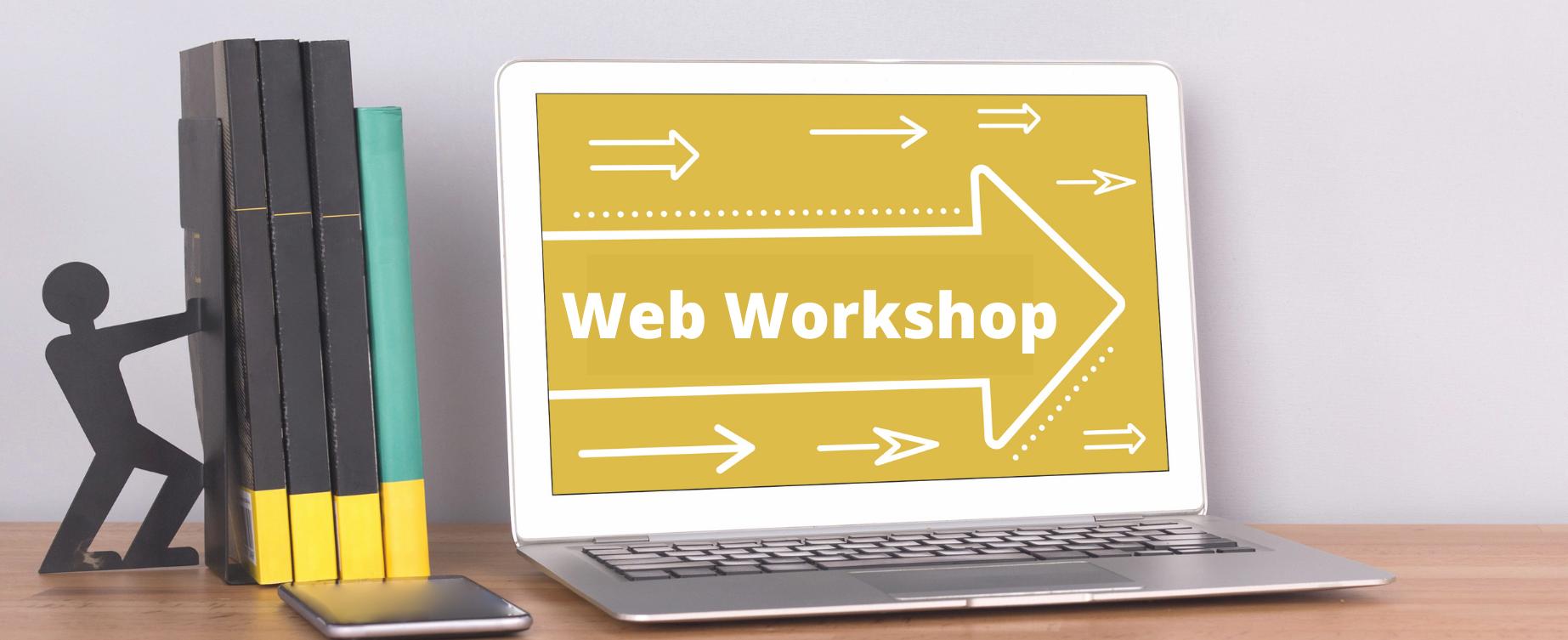 Web Workshops: Übersicht, Datenschutz, Termine, Anmeldung