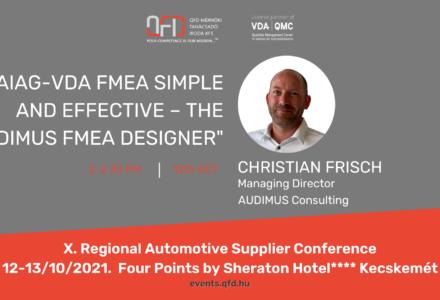 X. Regional Automotive Supplier Conference