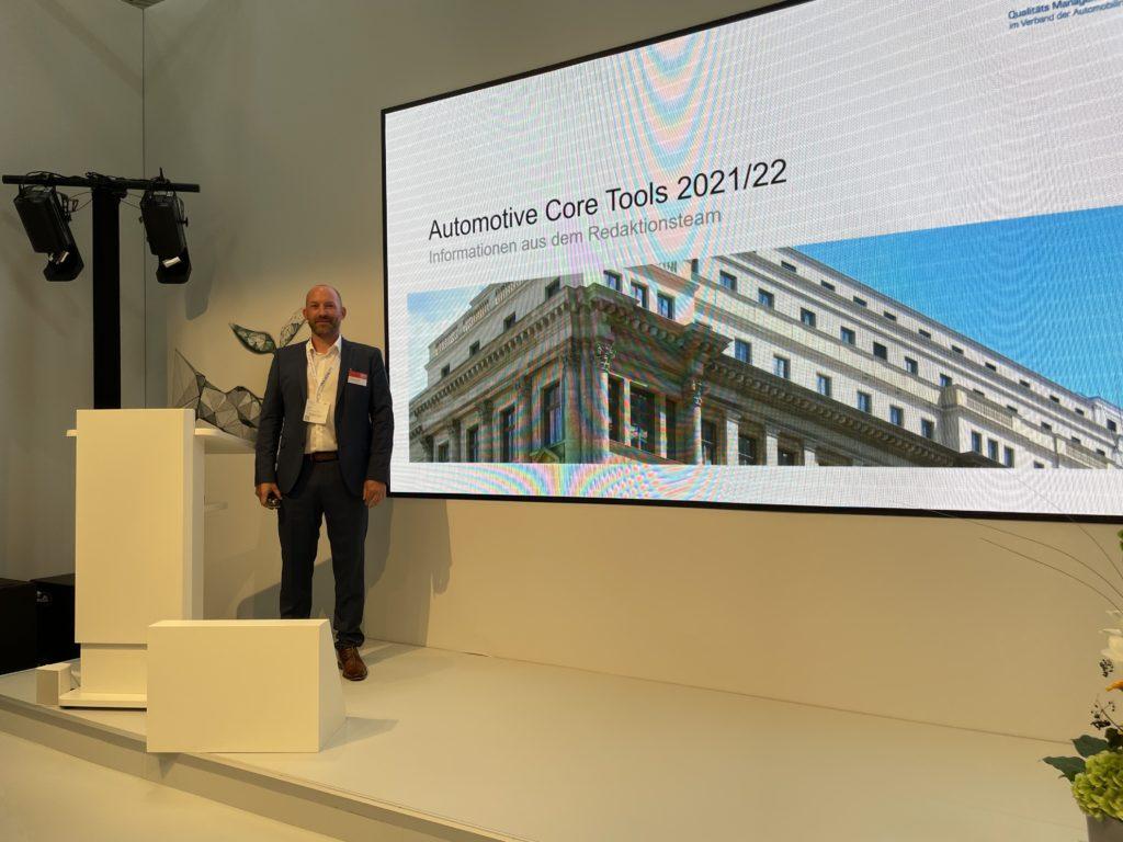Christian Frisch auf der IAA Mobility 2021
